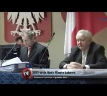 Relacja z XXXI zwyczajnej sesji Rady Miasta Lubawa