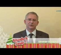 Życzenia Bożonarodzeniowe Burmistrza Miasta Lubawa – Macieja Radtke