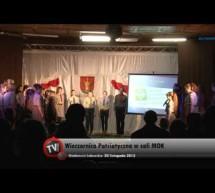 Relacja VIDEO z Wieczornicy Patriotycznej zorganizowanej przez harcerzy
