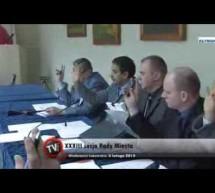 Relacja z XXXIII zwyczajnej sesji Rady Miasta Lubawa
