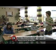 Kangur Matematyczny w SP w Lubawie- video