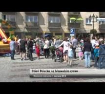 Dzień Dziecka na lubawskim rynku- relacja video