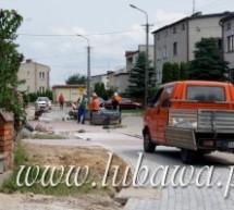 Trwa budowa chodników