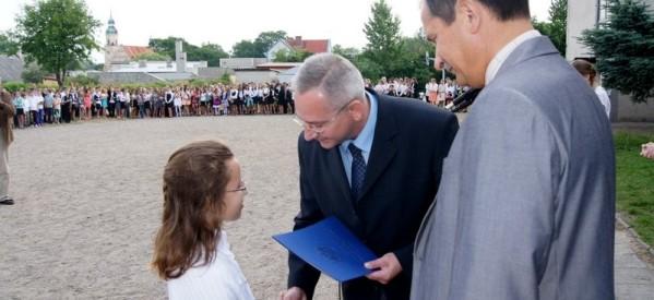Zakończenie roku szkolnego 2012/2013 w SP i Gimnazjum