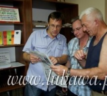 Wizyta delegacji w Sławsku