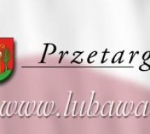 """Przetarg nieograniczony pn. """"Budowa chodników na osiedlu mieszkaniowym """"Glinki"""" w Lubawie – ul. Żeromskiego i ul. Matejki"""""""