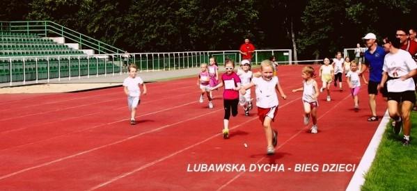 Lubawska Dycha 2013 – bieg dla dzieci
