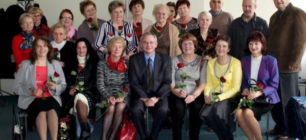 Spotkanie z emerytowanymi nauczycielami stało się miłą tradycją