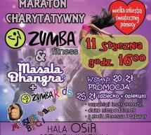 Taneczny i charytatywny Maraton Zumby
