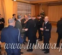 Spotkanie opłatkowe lubawskich strażaków