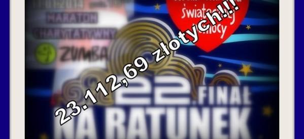 Kwotą 23.112,69 złotych lubawianie pomogą seniorom!