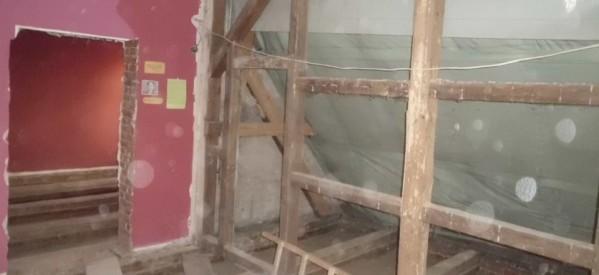 Ruszyły prace remontowo – budowlane w starej części Biblioteki
