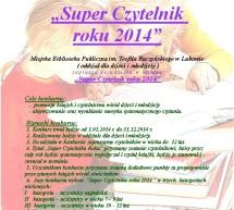 Zostań Super Czytelnikiem 2014 roku!