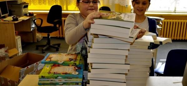 100 książek trafiło na półki Biblioteki Szkolnej