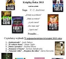 Saga V.C. Andrews wygrała w Plebiscycie na Książkę Roku 2013
