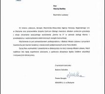 Warmińsko – Mazurska Agencja Rozwoju Regionalnego doceniła obsługę inwestora