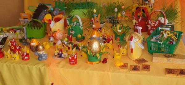 Trwa Kiermasz Wielkanocny w Warsztatacie Terapii Zajęciowej