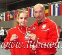 Oliwia Lóźniewska srebrną medalistką Pucharu Świata! Austrian Classics WAKO Worldcup 2014