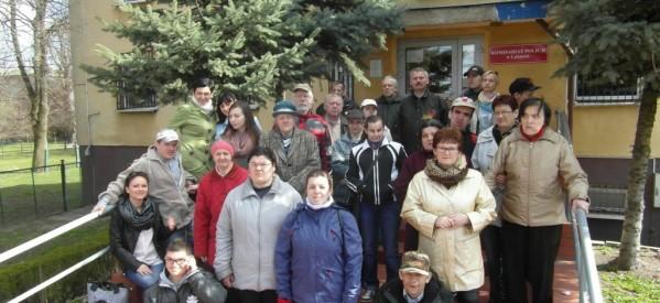 Uczestnicy Środowiskowego Domu Samopomocy odwiedzili Komisariat Policji