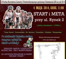 Już jutro na lubawskich ulicach pojawią się kolarze