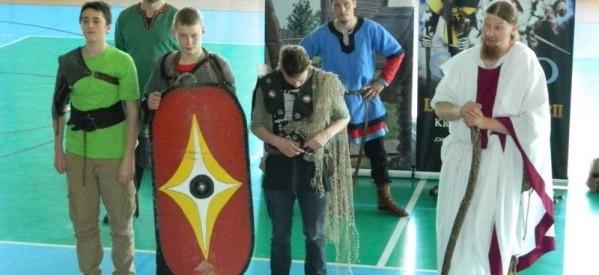 Gimnazjum gościło bractwo rycerskie z grodziska Owidz
