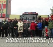 Uczestnicy ŚDS odwiedzili siedzibę Ochotniczej Straży Pożarnej