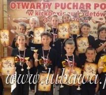 Otwarty Puchar Polski Kadetów w Kickboxingu 11 medali najmłodszych Championów Lubawa! 3 złote, 4 srebrne i 4 brązowe!