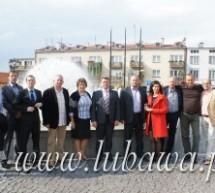 Wizyta delegacji ze Sławska