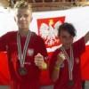 Hubert Łaniewski Vice Mistrzem Świata!!! Oliwia Rucińska brązową medalistką!!!