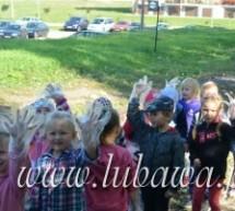 """Przedszkolaki pomogły """"sprzątać świat"""""""