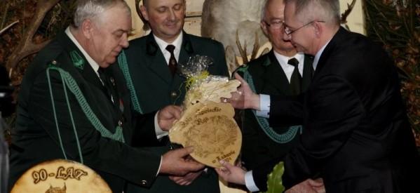 """Koło Łowieckie """"Ryś"""" w Lubawie świętowało 90 lat istnienia"""