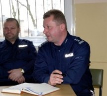 Odprawa roczna lubawskiej policji