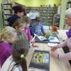 Wizyta uczniów w bibliotece