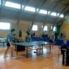 Gimnazjaliści na turnieju tenisowym