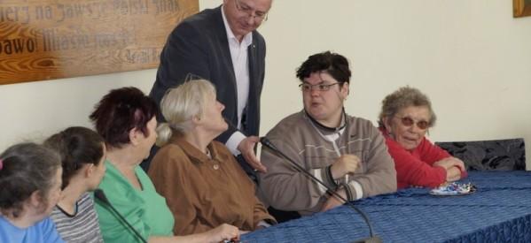 Uczestnicy ŚDS z wizytą u burmistrza