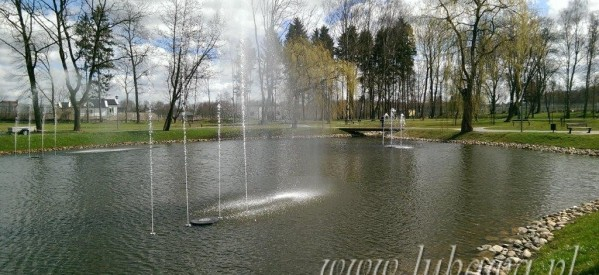 """Fontanny już """"tańczą"""" w Łazienkach"""