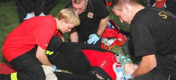 Ratownicy z OSP na Ogólnopolskich Mistrzostwach w ratownictwie