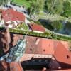 Zdjęcia Lubawy wykonane na kościelnej wieży