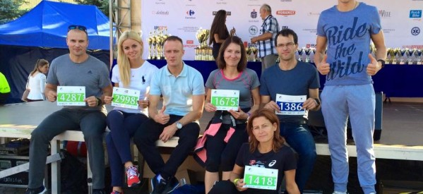 """""""Lubawa Kocha Biegać"""" na Wrocław Maraton 2015"""