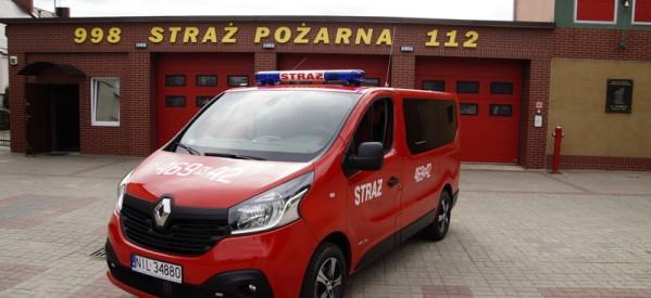 Nowy samochód dla lubawskich strażaków