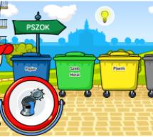 Gra ekologiczna- zasady segregacji śmieci