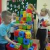 Zabawy klockami w przedszkolu