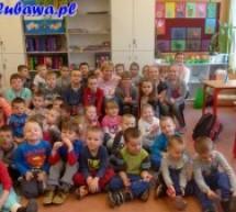 Przedszkolaki z wizytą w Szkole Podstawowej