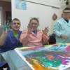 Zajęcia integracyjno-plastyczne w Środowiskowym Domu Samopomocy