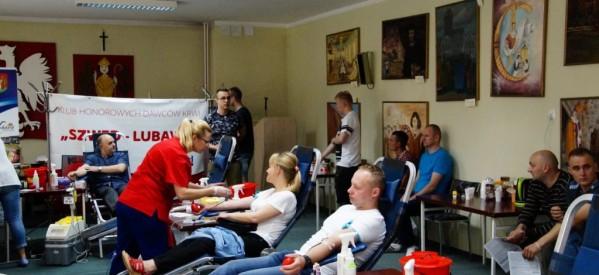 Kolejna akcja poboru krwi