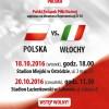 Zapraszamy na dwumecz Reprezentacji U-16 POLSKA – WŁOCHY