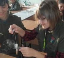 Warsztaty chemiczne w gimnazjum