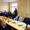 Odprawa roczna w Komisariacie Policji w Lubawie