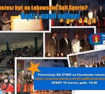 Lubawska Gala Sportu – online