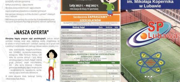 Szkoła Podstawowa im. Mikołaja Kopernika w Lubawie – INFORMACJE
